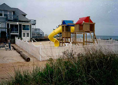 West Dennis Cape Cod vacation rental - Voted best oceanfront playground on Cape Cod!