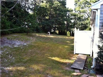 Dennisport Cape Cod vacation rental - Backyard with outdoor shower