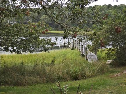 South Orleans Cape Cod vacation rental - The house has access to the Namequoit River, for fishing and boat