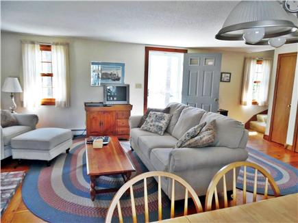 Eastham Cape Cod vacation rental - Open airy  great room /dining and living room kitchen combination