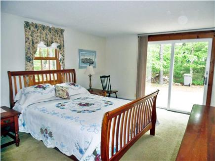 Eastham Cape Cod vacation rental - Master br ,queen bed, full bath, first  floor w/ sliders to deck