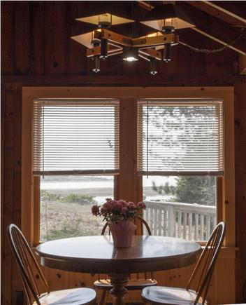 South Wellfleet Cape Cod vacation rental - View from Dining Table