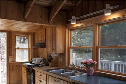 South Wellfleet Cape Cod vacation rental - Kitchen work area