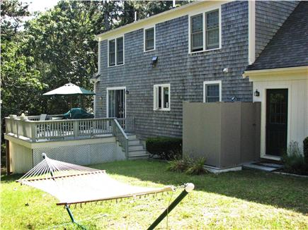 Harwich Cape Cod vacation rental - Outdoor enclosed shower and deck