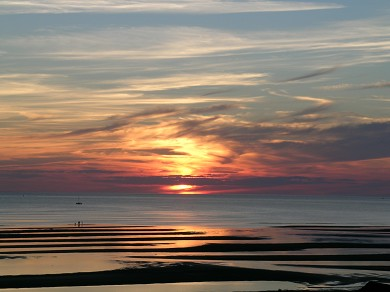 Eastham Cape Cod vacation rental - Watch magnificent sunsets over the bay from the house