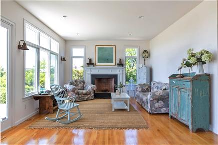 Eastham Cape Cod vacation rental - Sunfilled living room