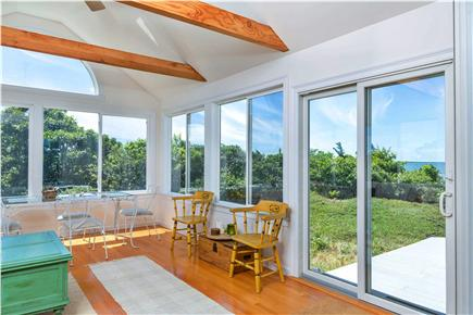 Eastham Cape Cod vacation rental - Downstairs Sunroom  for Relaxing or Dining