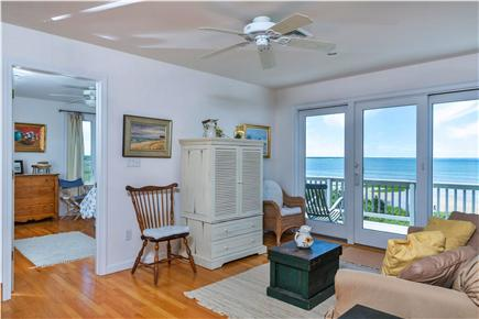 Eastham Cape Cod vacation rental - Enjoy water views from the casual upstairs sitting room
