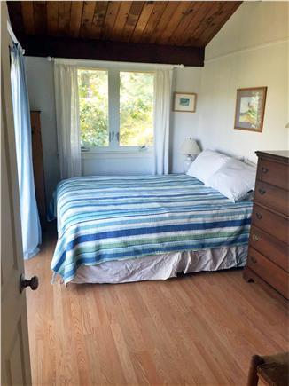 Wellfleet Cape Cod vacation rental - The queen master bedroom has slider to deck and views of marsh.