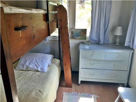 Wellfleet Cape Cod vacation rental - Bedroom #3 is cozy bunk room.