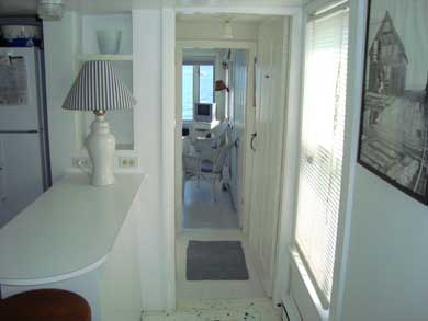 Provincetown Cape Cod vacation rental - View through to living room and Cape Cod Bay