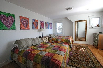 Dennis, North Side Cape Cod vacation rental - Double bedroom, second floor, 2 double beds