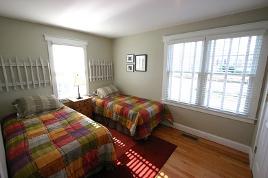 Dennis, North Side Cape Cod vacation rental - Double bedroom, first floor, 2 twin beds
