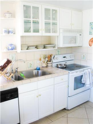 South Wellfleet Cape Cod vacation rental - Kitchen area.