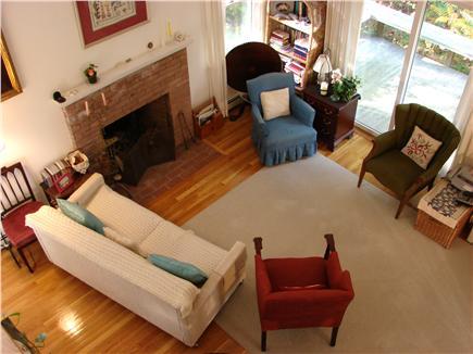 Pocasset (Wings Neck) Pocasset vacation rental - Comfortable sunlit living room with slider to deck