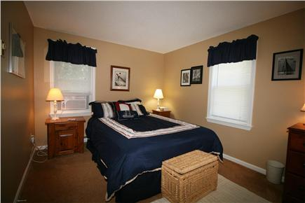 HarwichPort Cape Cod vacation rental - Bed 2: AC, new queen, views - hear the waves!
