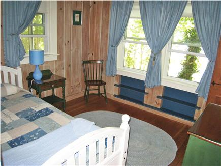 East Falmouth Cape Cod vacation rental - Small bedroom, twin with trundle bed, water view