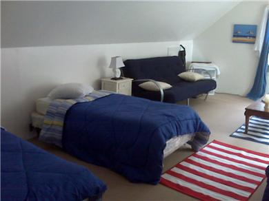 Harwich Port Cape Cod vacation rental - Loft area sleeps 4 with pull out sofa and TV