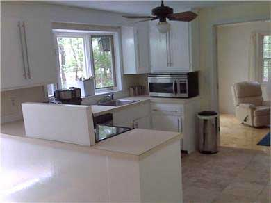 Harwich Port Cape Cod vacation rental - Kitchen with Stainless appliances