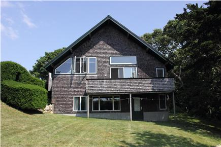 Woods Hole Woods Hole vacation rental - House Facade, Back Deck, and Lawn