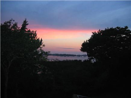 Woods Hole Woods Hole vacation rental - Sunset View of Great Harbor from Back Deck