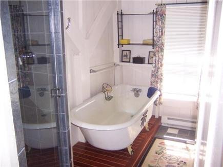 Centerville, Craigville Village Centerville vacation rental - Full bath with shower and claw foot tub