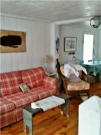 New Seabury, Mashpee New Seabury vacation rental - Living room opens through sliders to front patio and water views