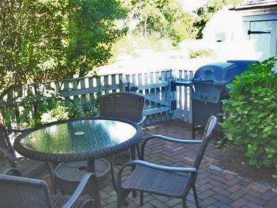 New Seabury, Mashpee New Seabury vacation rental - Back patio for relaxing