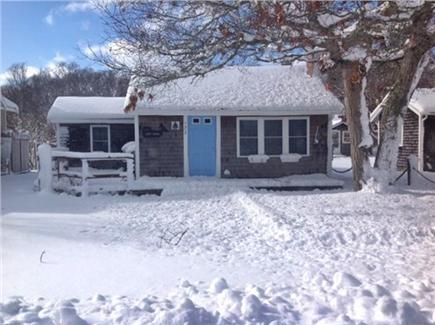 South Yarmouth/Bass River Cape Cod vacation rental - Snowy day outside, cozy inside!
