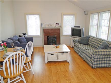 South Yarmouth/Bass River Cape Cod vacation rental - Living area offers wireless internet and surround sound stereo