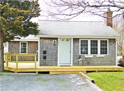South Yarmouth/Bass River Cape Cod vacation rental - Front of cottage view