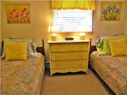 Dennis Port Cape Cod vacation rental - 2nd bedroom with twin beds