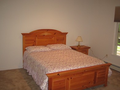 Wellfleet Cape Cod vacation rental - Guest Bedroom 2 with Queen Bed private access to bath