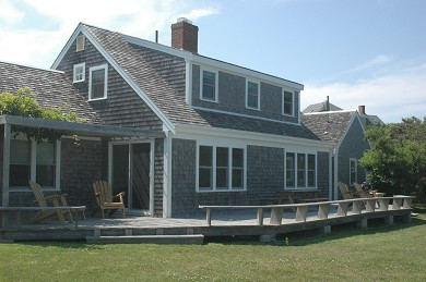 Orleans Cape Cod vacation rental - Deck and yard