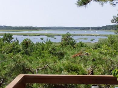 Wellfleet Cape Cod vacation rental - View to West off Sunset Deck