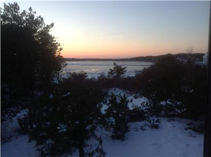 Wellfleet Cape Cod vacation rental - West view