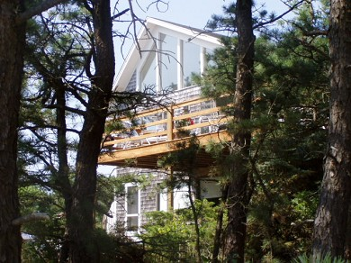 Wellfleet Cape Cod vacation rental - House view