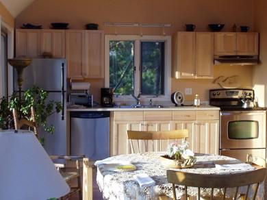 Wellfleet Cape Cod vacation rental - Kitchen & Dining Area