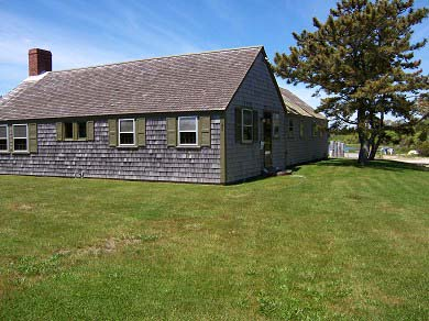 Chatham Cape Cod vacation rental - Street view of The Boathouse overlooking Stage Harbor