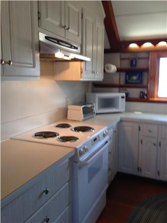 Chatham Cape Cod vacation rental - Cathedral ceiling updated galley kitchen