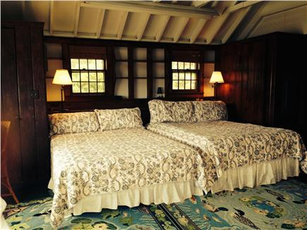 Chatham Cape Cod vacation rental - Cathedral ceiling waterfront master bedroom-2 queens