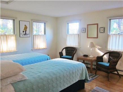 Wellfleet Cape Cod vacation rental - Bedroom second floor with twin beds