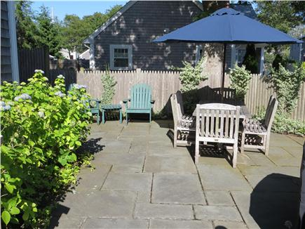 Harwichport, south of Route 28 Cape Cod vacation rental - Relax & Cook Out with Weber gas grill on private bluestone patio