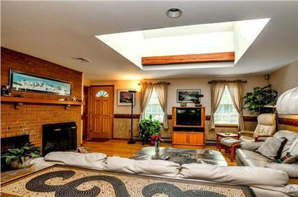 East Orleans Cape Cod vacation rental - Scandinavian teak graces a decorator interior.