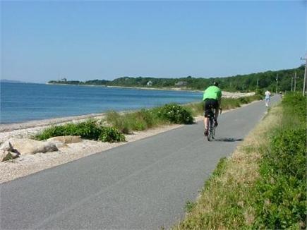 East Falmouth Cape Cod vacation rental - Shining Sea Bikeway: great for  walks, bikes,runs,roller blades