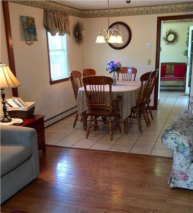 East Falmouth Cape Cod vacation rental - Dining room, seating for 6