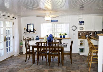 Sagamore Beach Sagamore Beach vacation rental - Dining-table seats 6 with additional 2 bar stools
