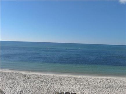 West Yarmouth Cape Cod vacation rental - View from deck, steps away from sandy beach.