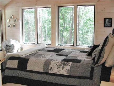 Wellfleet--Ocean Side Cape Cod vacation rental - A master bedroom that's a pleasure to wake up in