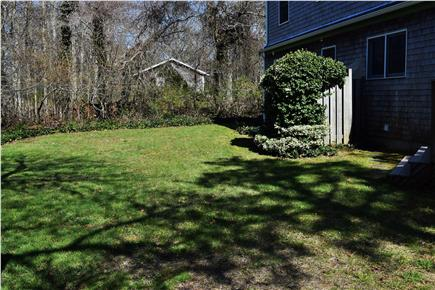 Brewster Cape Cod vacation rental - Backyard with enclosed outdoor shower